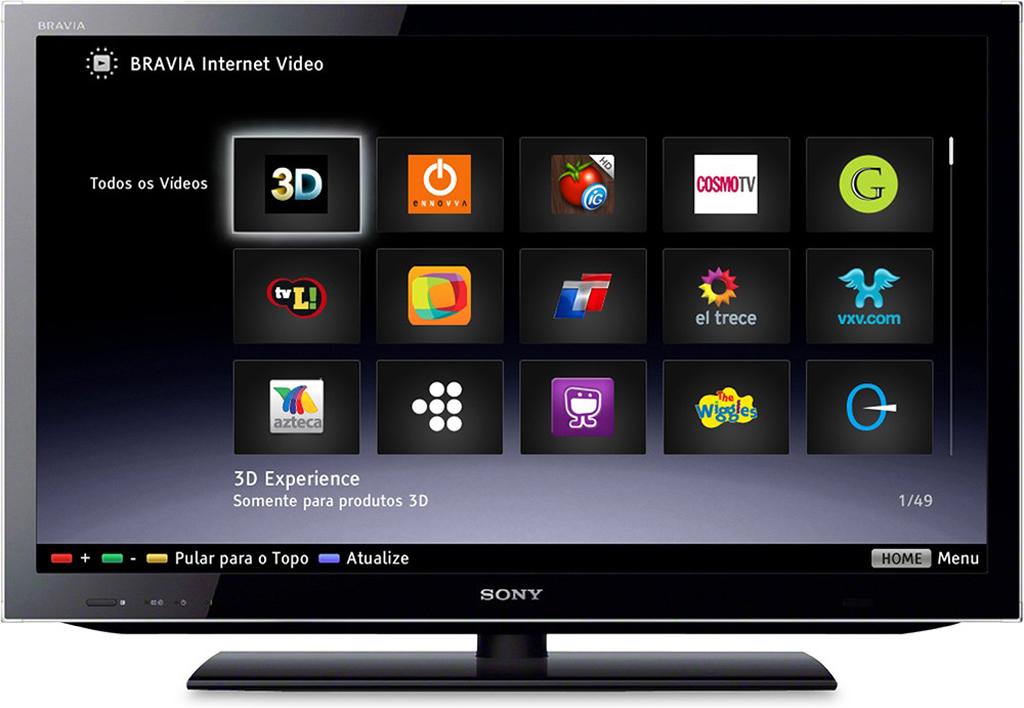 Настройка Sony Smart TV Киев