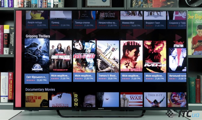 Android TV от Sony