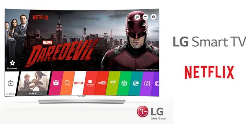 LG Smart TV Netflix