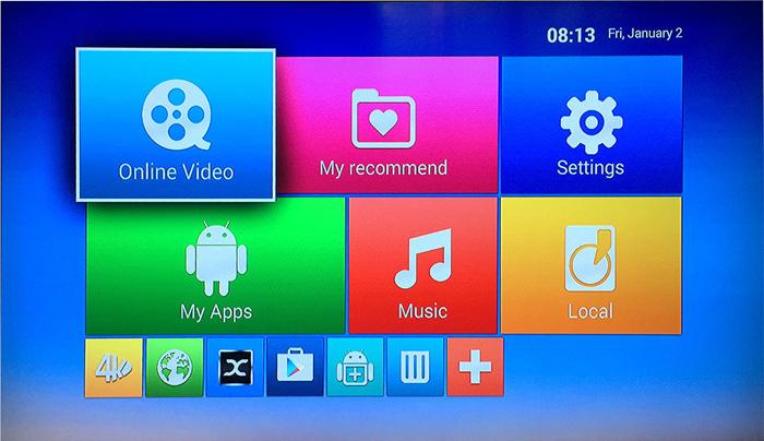 Удобный пользовательский интерфейс - M8S 4K TV Android Box