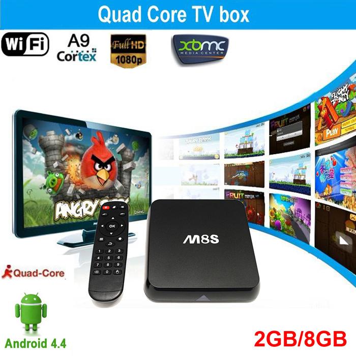 Поддержка всевозможных игр - M8S 4K TV Android Box