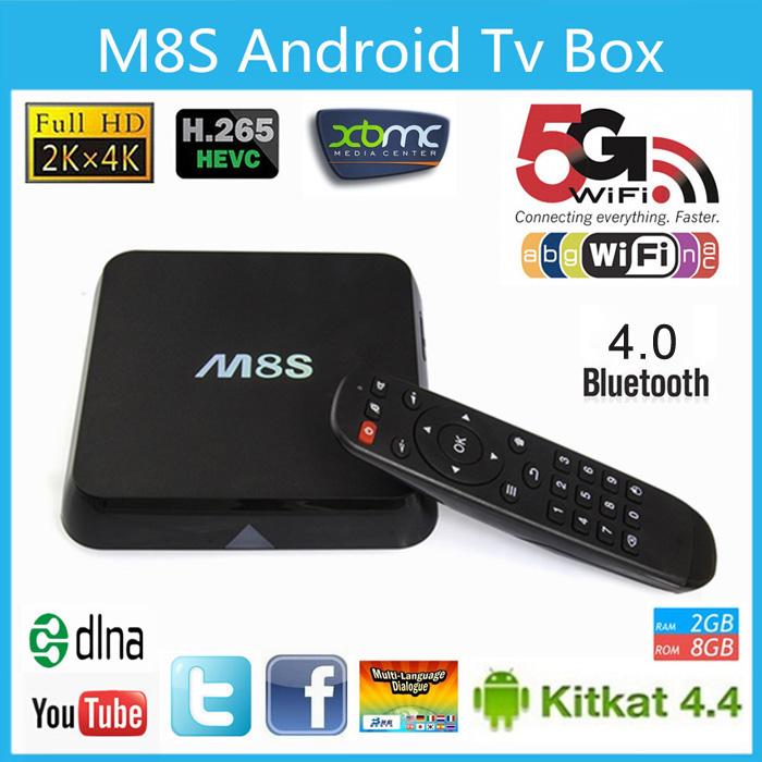Приставка M8S 4K TV Android Box