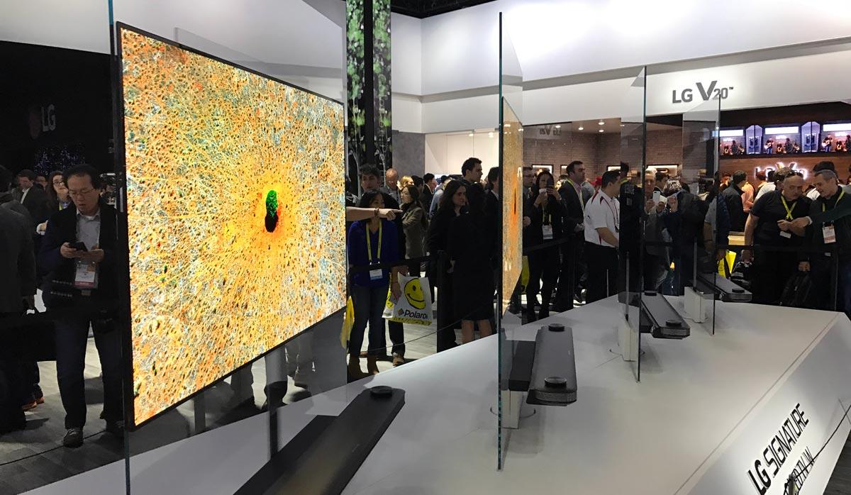 Samsung OLED CES 2017
