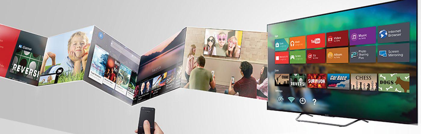 Настройка телевизора Sony Smart TV Киев